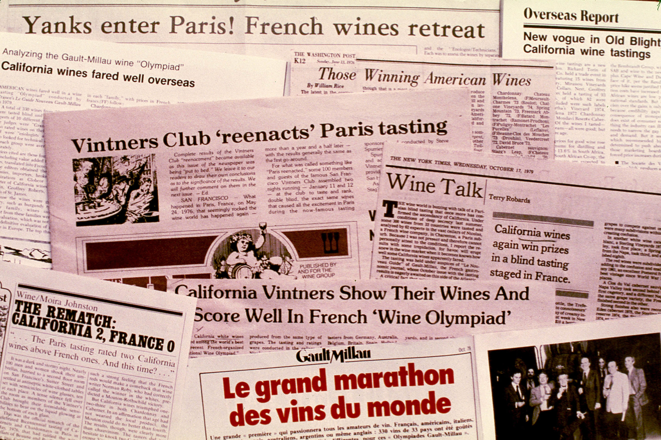 Judgement of Paris Headlines